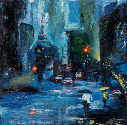 Picture of Colour of the rainy night
